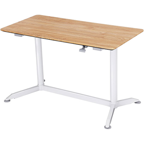 Table de bureau assis-debout Songmics réglage hauteur manuel