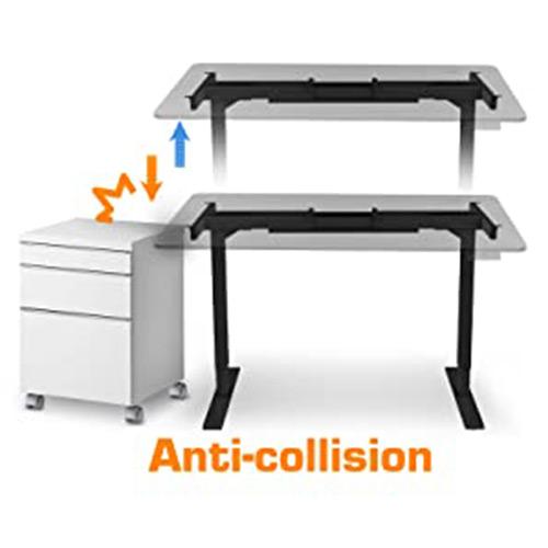 bureau assis-debout électrique système anti-collision