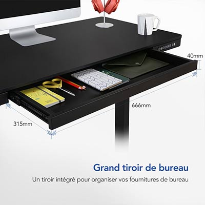 Bureau-assis-debout-Flexispot-EG8-tiroir-encastre-dimension