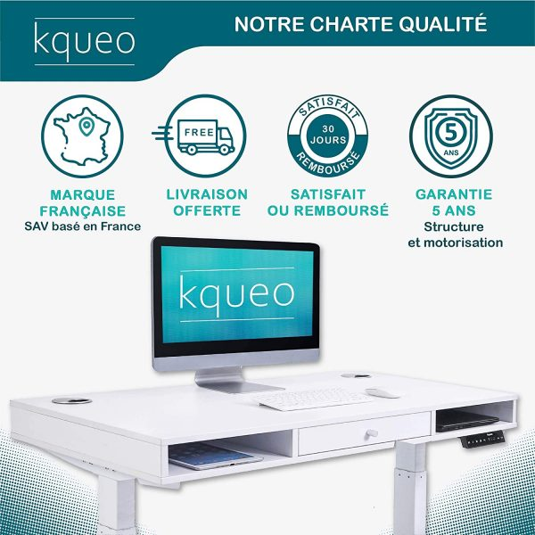 Bureau-assis-debout-electrique-KQUEO-Space-Lift-110-blanc-charte-qualite