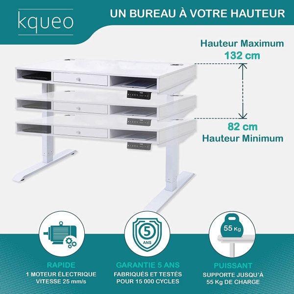 Bureau-assis-debout-electrique-KQUEO-Space-Lift-110-blanc-rangement-hauteur-ajustable
