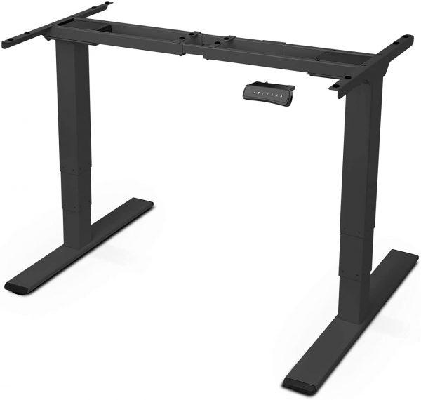 Cadre de bureau assis-debout électrique Flexispot EC5 noir