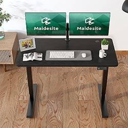 Cadre-de-bureau-assis-debout-électrique-MAIDeSITE-T2-PRO-Plus