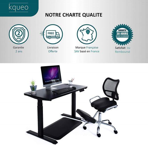 Chaise de bureau Kqueo charte qualité