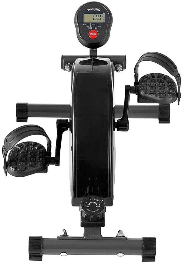 Mini vélo de bureau SportPlus face