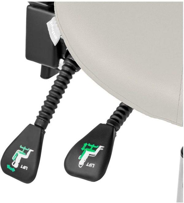Siège selle ergonomique avec dossier Physa wellness & lifestyle reglage