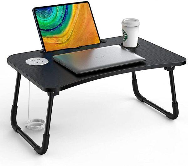 Plateau support de lit Elekin pour ordinateur portable et tablette