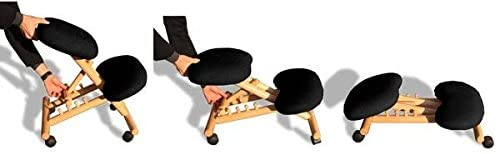 Tabouret assis-debout ergonomique Cinius reglages