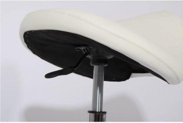Tabouret ergonomique selle avec roulette Promafit hauteur réglable