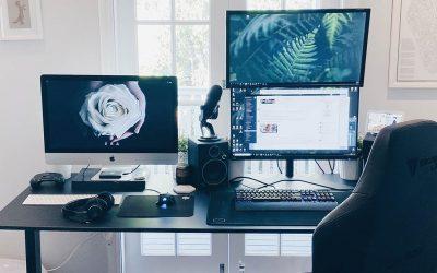 Guide d'Achat : bureau assis-debout pour vidéos et streamer – Twitch, YouTube