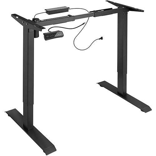 Cadre-de-bureau-assis-debout-électrique-TecTake-Noir-800665-visualisation-500